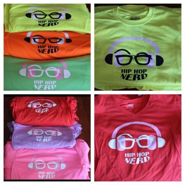 HipHop Nerd Shirts Now Avail